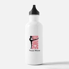 Personalized Beautiful Dancer Water Bottle