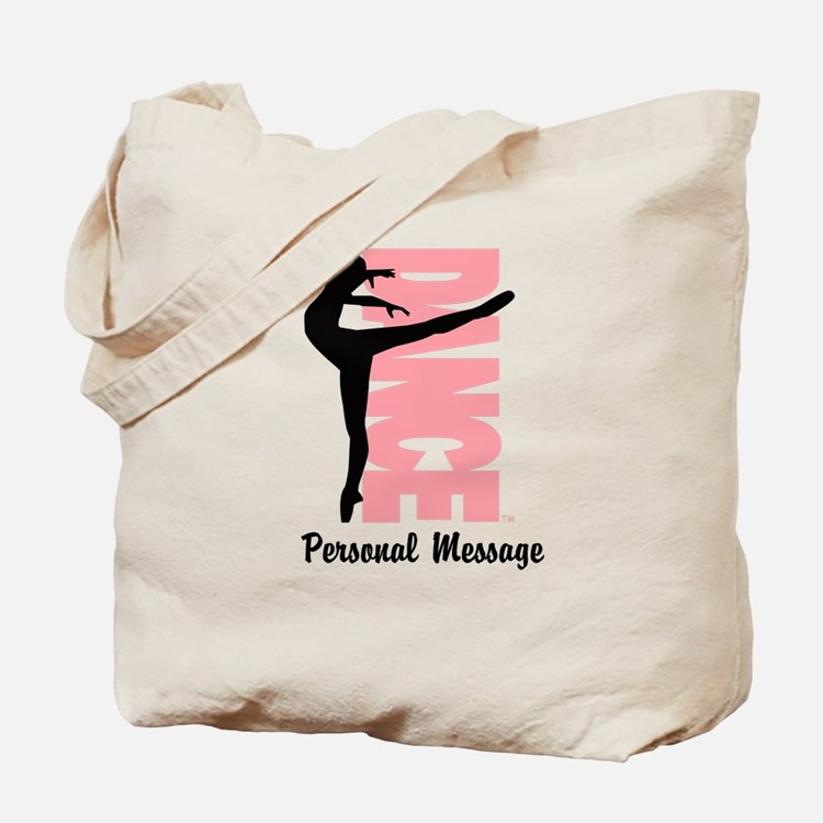 Personalized Beautiful Dancer Tote Bag