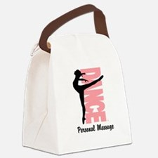 Personalized Beautiful Dancer Canvas Lunch Bag