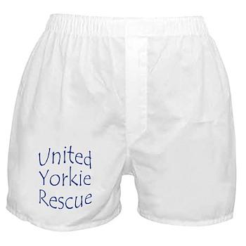 United Yorkie Rescue Boxer Shorts