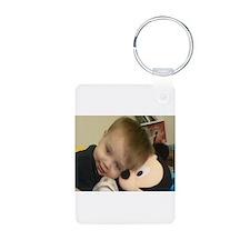 Aiden, Mickey Aluminum Photo Keychain