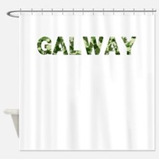 Galway, Vintage Camo, Shower Curtain