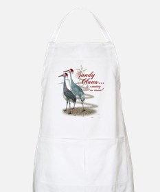 Sandy Claws is coming to town! Apron