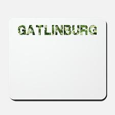 Gatlinburg, Vintage Camo, Mousepad