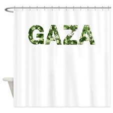 Gaza, Vintage Camo, Shower Curtain