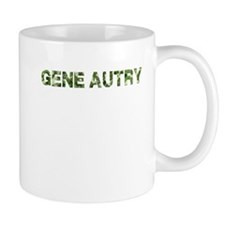 Gene Autry, Vintage Camo, Small Mug