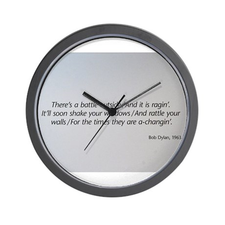 The 1960s Wall Clock