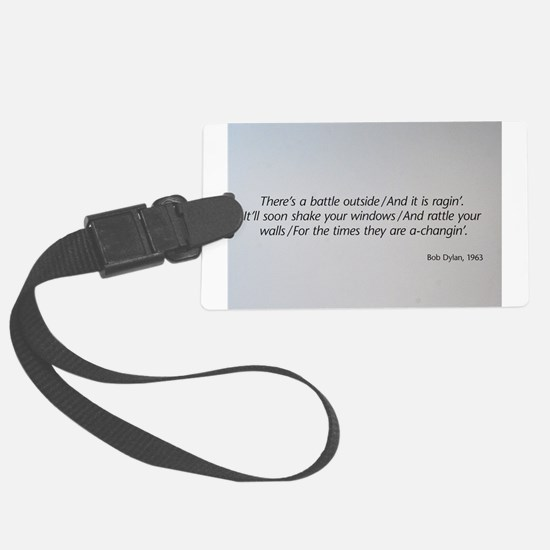 The 1960s Large Luggage Tag