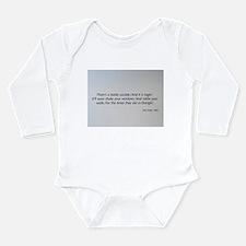 The 1960s Long Sleeve Infant Bodysuit