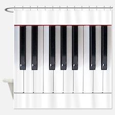 Keyboard 7 Shower Curtain
