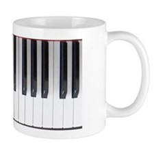 Piano Keyboard 6 Mug