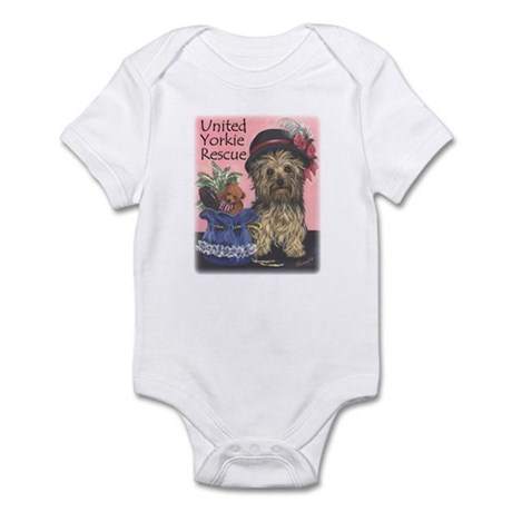 United Yorkie Rescue Infant Bodysuit