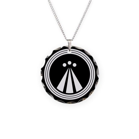 Druid Design Necklace Circle Charm