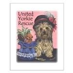 United Yorkie Rescue Small Poster