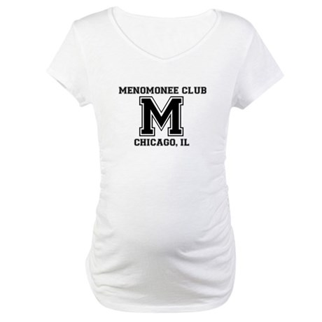 Alumni transparent Maternity T-Shirt