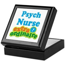 Psych Nurse Extraordinaire Keepsake Box