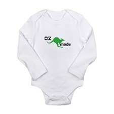 Oz Made Long Sleeve Infant Bodysuit