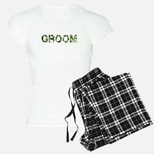 Groom, Vintage Camo, Pajamas