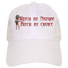 Witch Bitch 10x10.png Baseball Cap