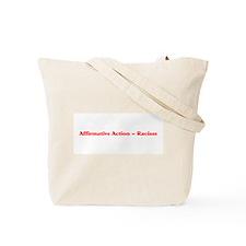 End Racism Tote Bag