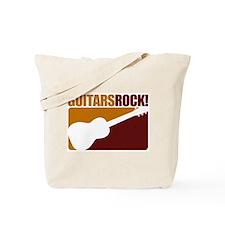 Guitar Rock! Tote Bag