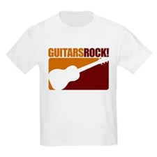 Guitar Rock! Kids T-Shirt