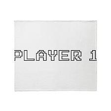 Player 1 Throw Blanket