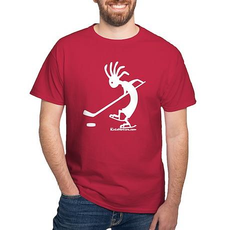 Kokopelli Hockey Player Dark T-Shirt