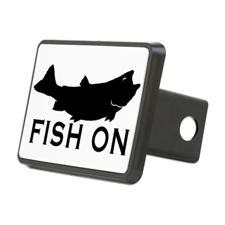 Fish on hitch cover by dmsdesignshop for Fish hitch cover