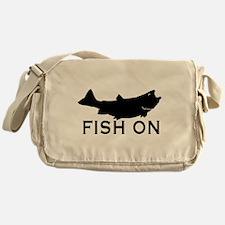 Fish on Messenger Bag