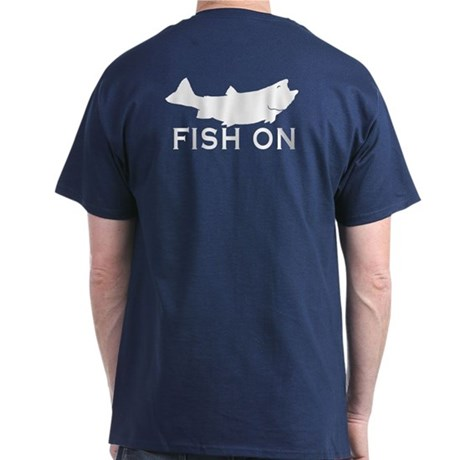 Fish on Dark T-Shirt