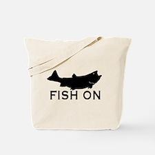 Fish on Tote Bag