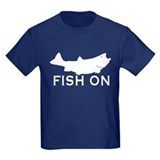 Fishing kids Kids T-shirts (Dark)