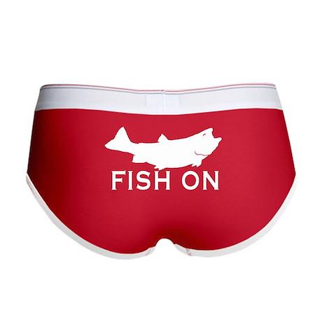 Fish on Women's Boy Brief
