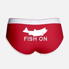 Fish on Women's Boy Brief