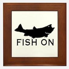 Fish on Framed Tile