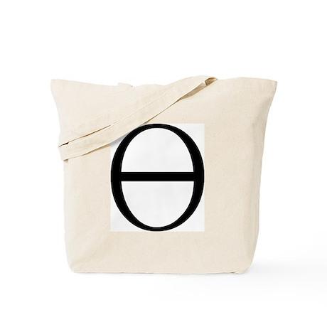 Greek Symbol Theta Tote Bag