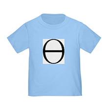 Greek Symbol Theta T