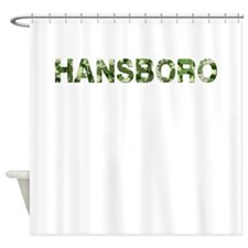 Hansboro, Vintage Camo, Shower Curtain