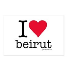 iluvbeirut/lebanon Postcards (Package of 8)