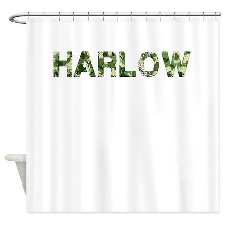 Harlow, Vintage Camo, Shower Curtain