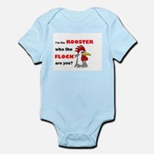 Who the flock tee Infant Bodysuit