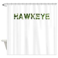 Hawkeye, Vintage Camo, Shower Curtain