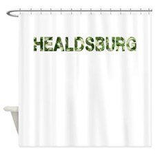 Healdsburg, Vintage Camo, Shower Curtain