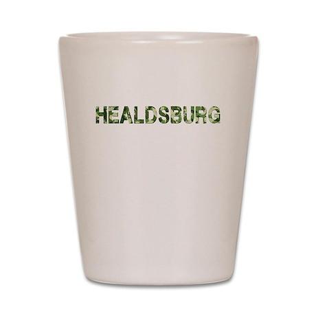 Healdsburg, Vintage Camo, Shot Glass