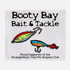 Booty Bay Bait & Tackle Throw Blanket