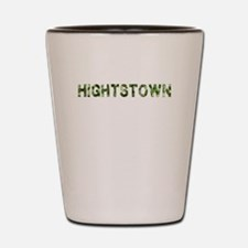 Hightstown, Vintage Camo, Shot Glass