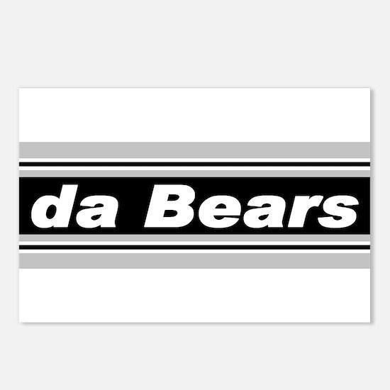 Silver & Black - da Bears - Postcards (Package of
