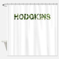 Hodgkins, Vintage Camo, Shower Curtain