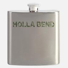 Holla Bend, Vintage Camo, Flask